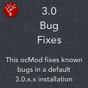 3.0 Bug Fixes