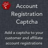 Account Registration Captcha