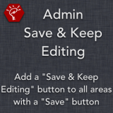 Admin Save and Keep Editing