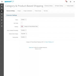 Category & Product-Based Shipping