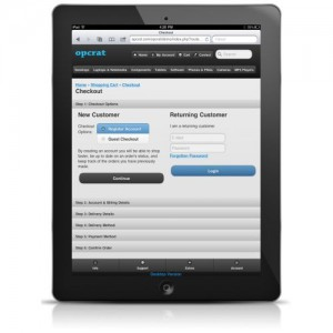Omtex - Mobile and Tablet Version