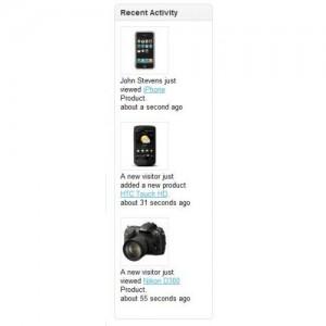 Recent Activity - Increase Sales