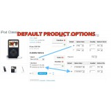 Default Product Options (1.5.x/2.x)
