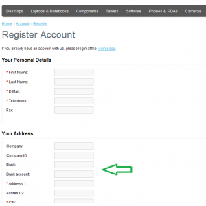 New Custom Extra Fields on Registration