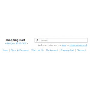 Show All Products Catalog Page for OpenCart