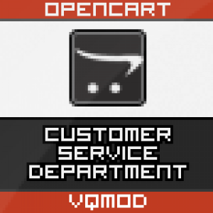 Customer Service Department for OpenCart