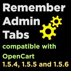 Remember Admin Tabs
