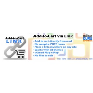 Add to Cart via URL link