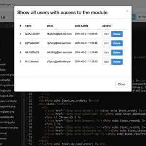 CodeManager - Web-based IDE framework for OpenCart