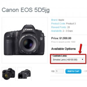 Option Adds Product To Cart (1.5.x/2.x.x)