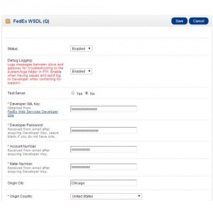 FedEx Advanced Rates for OpenCart 1.5/2.x/3.0
