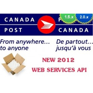 Canada Post WebService Live Rates 1.5.x/2.0.x