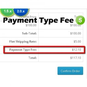 Payment Type Fee (1.5.x/2.0.x)