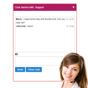 Live chat, helpdesk & support