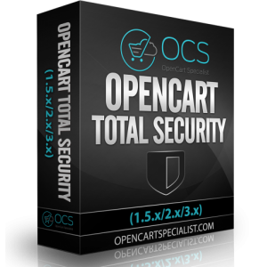 OpenCart Total Security