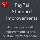 PayPal Standard Improvements