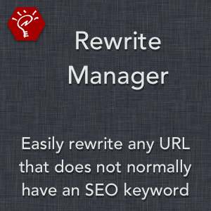 Rewrite Manager