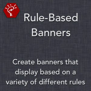 Rule-Based Banners