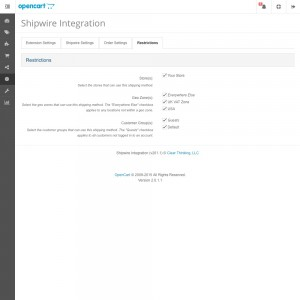 Shipwire Integration