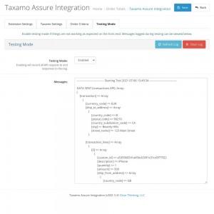 Taxamo Assure Integration
