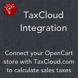 TaxCloud Integration