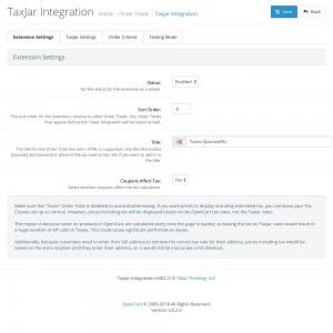 TaxJar Integration